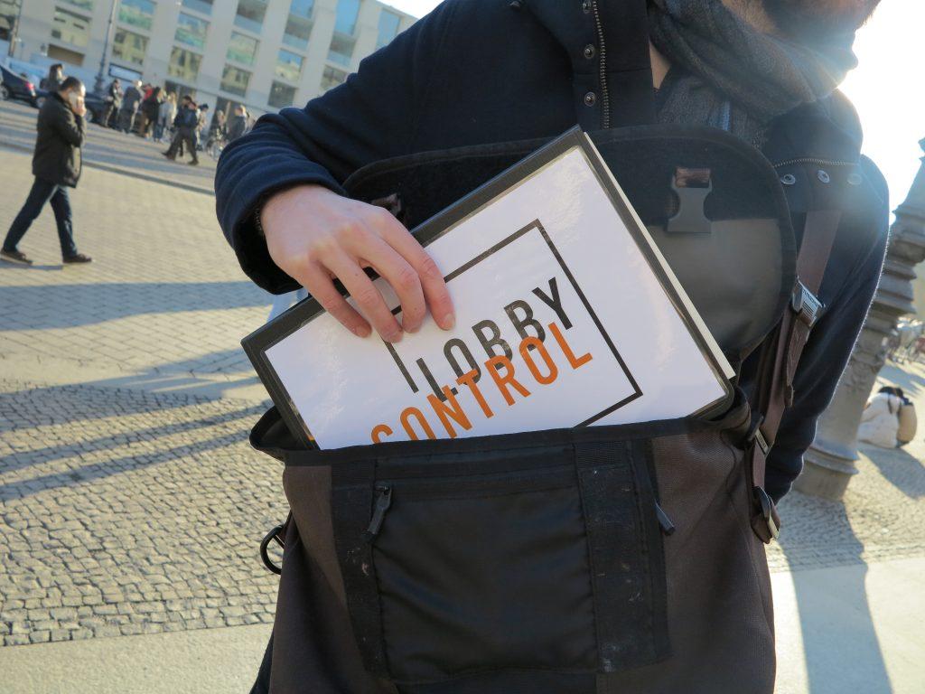 Stadtführung mit Lobbycontrol