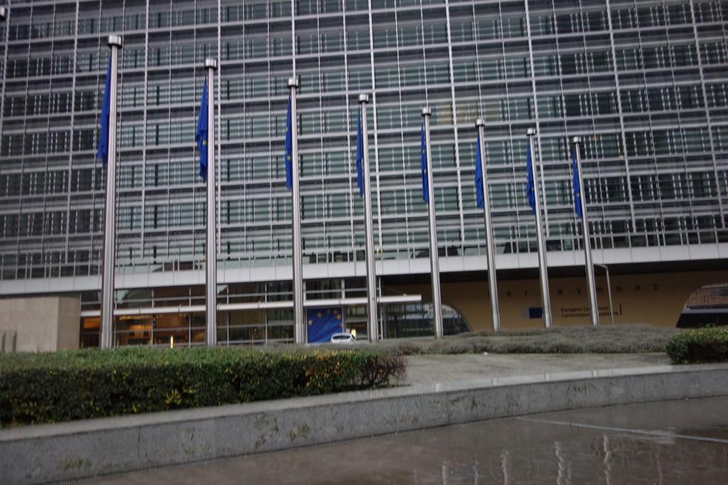 Berlaymont Gebäude der EU-Kommission