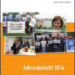2014 Jahresbericht Titelbild Lobbycontrol