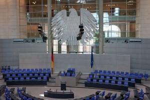 Plenarsaal des Bundestages, Kemmi.1, CC-by-sa 3.0