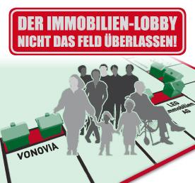 Aktion: Der Immobilien-Lobby nicht das Feld überlassen!
