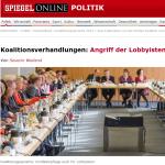 Angriff der Lobbyisten