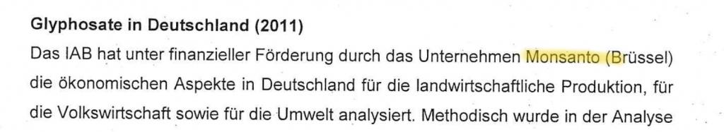 Auszug aus dem Protokoll des Vereins für Agribusiness-Forschung, 2012