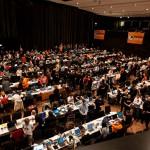 Foto vom Piratenpartei Tag 2011, CC-BY Tobias M. Eckrich