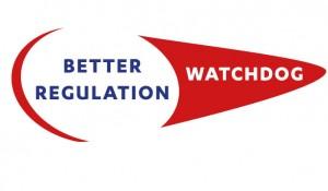 """Das Bild zeigt das Logo des neuen zivilgesellschaftlichen Bündnisses """"Better Regulation Watchdog."""""""