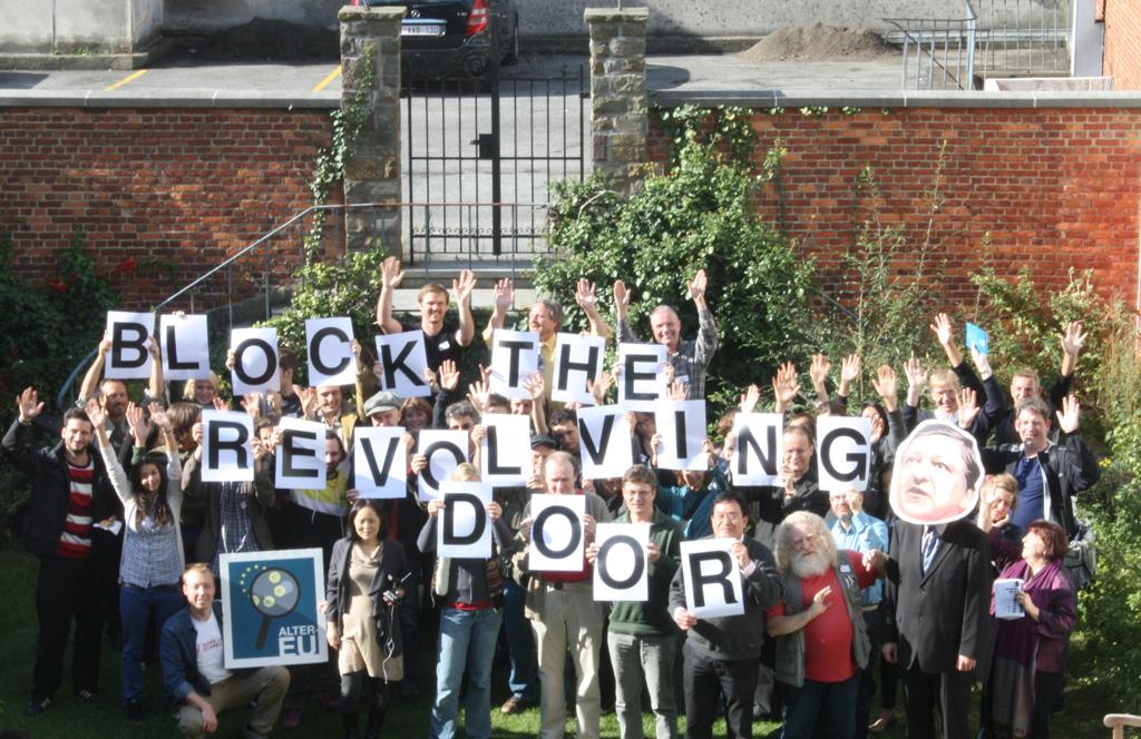 ALTER-EU Campaigner sprechen sich in Brüssel für mehr Regulierung bei Personalwechseln aus