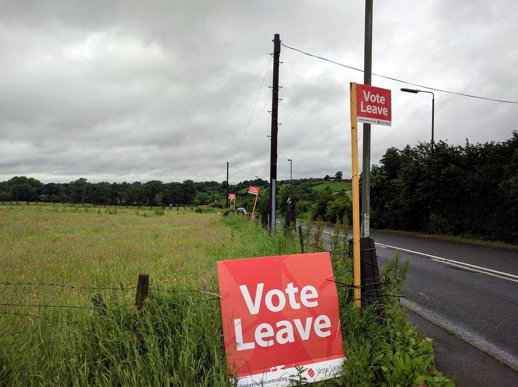 Die Brexit Kampagne in Großbritannien hat selbst die entlegensten Winkel des Landes erfasst.