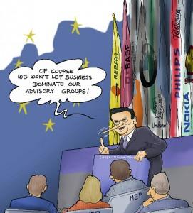 A year of broken promises. Titelbild: