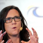 Das Bild zeigt EU-Handelskommissarin Cecilia Malmström.