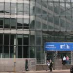 Das Bild zeigt das Charlemagne Gebäude der EU-Kommission, in dem das Handelsdirektorat untergebracht ist.