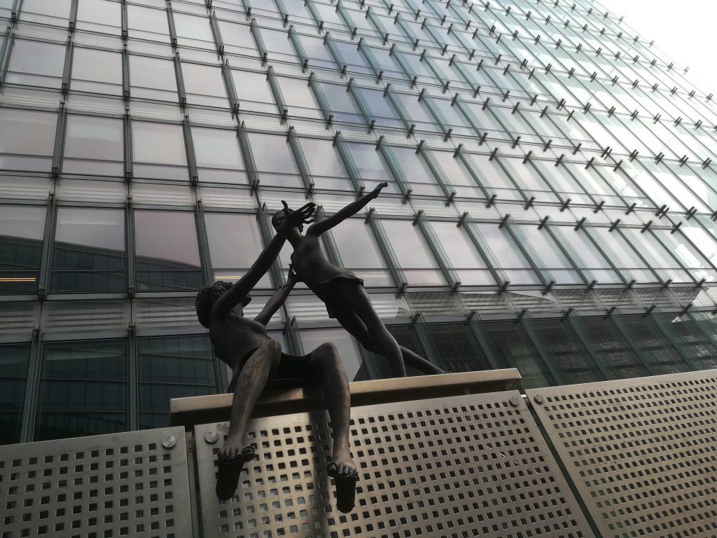 Das Bild zeigt das Gebäude der Handelsdirektion der EU-Kommission. Bild: Max Bank.