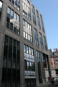 Der größte europäische Arbeitgeberverband BusinessEurope sitzt im selben Geböude wie der Europäische Dienstleistungsverband ESF.