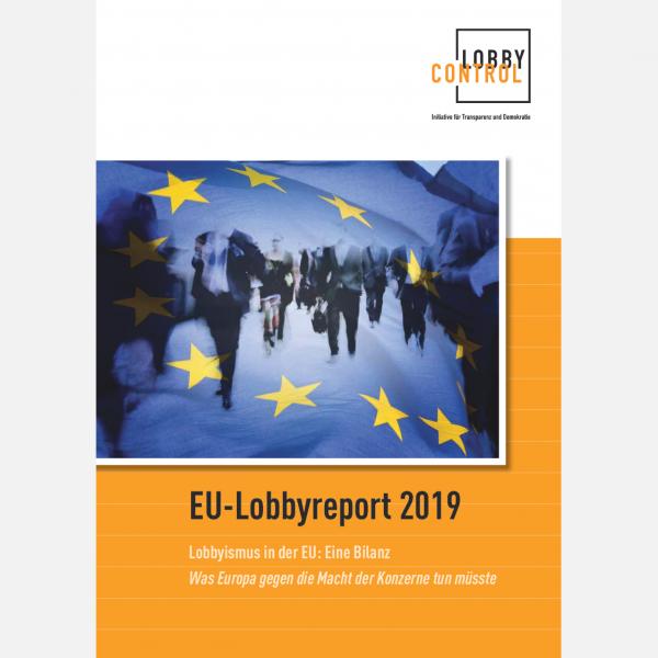EU Lobbyreport 2019 - Titelseite