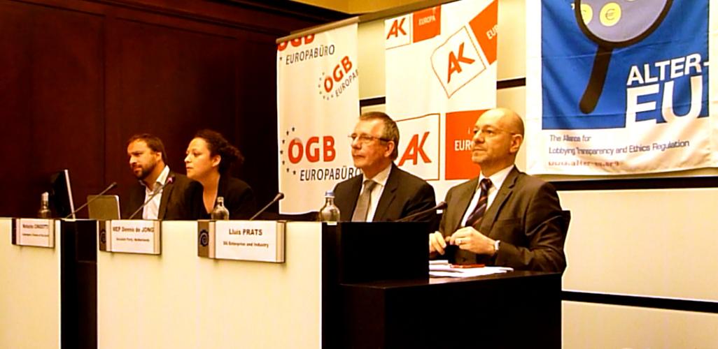 Vorstellung der Expertengruppen-Studie in Brüssel