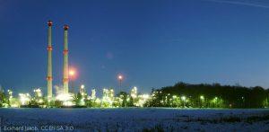 Das Bild zeigt das ExxonMobil Werk in Großenkneten,