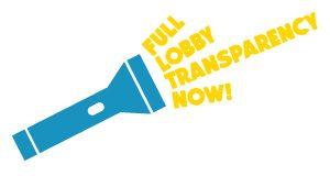 Das Bild zeigt das Logo unserer Kampagne für ein verpflichtendes EU-Lobbyregister.
