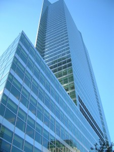 Das Bild zeigt die Zentrale von Goldman Sachs in New York.