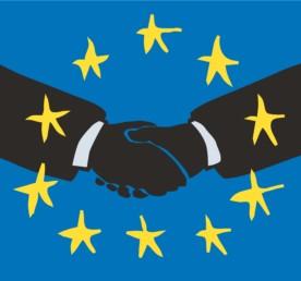 EU-Händedruck
