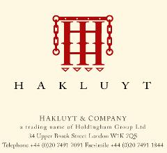 Screenshot der Webseite von Hakluyt & Company, 10. Jan 2013