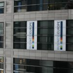 Das Brüsseler Büro des größten europäischen Arbeitgeberverbands BusinessEurope unweit der EU-Kommission.