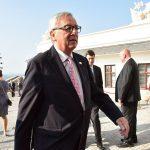 Kommissionspräsident Juncker beim EU-Bratislava Gipfel im September 2016.