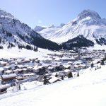 Tagungsort von Oettingers Mini-Davos: Das österreichische Skiparadies Lech am Arlberg