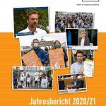Titelseite LobbyControl Jahresbericht 2020/21