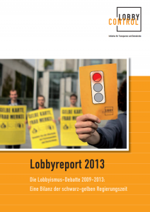 Lobbyreport kostenlos bestellen