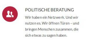 Mit diesen Worten wirbt die SPD-Agentur WMD auf ihrer Webseite für ihre Dienste.