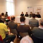 Pressekonferenz mit Campact und TI zu Abgeordnetenbestechung und Nebeneinkünften, 16.10.2012