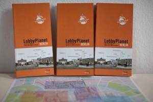 Das Bild zeigt den neuen LobbyPlanet Berlin.