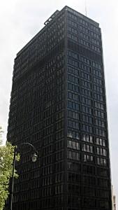 Das Bild zeigt den sogenannten IT-Tower, in dem unter anderem die Anwaltskanzlei Mannheimer Swartling ihr Brüsseler Büro hat.