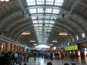 In Stockholm haben wir nur wenige Stunden verbracht. Das Foto zeigt den Hauptbahnhof der schwedischen Haupstadt.