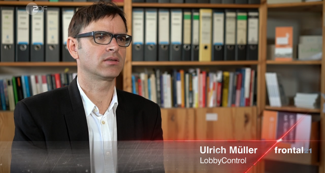 Unser Campaigner Ulrich Müller bei Frontal21