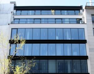 Das Foto zeigt die Brüsseler Lobbybüros des Energiekonzerns Vattenfall.