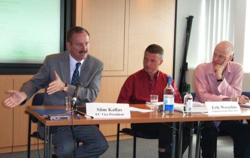 Kallas bei der ALTER-EU-Pressekonferenz