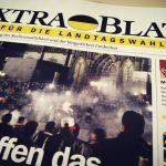 """Das """"Extrablatt"""" wirbt in Wahlkämpfen für die AfD"""
