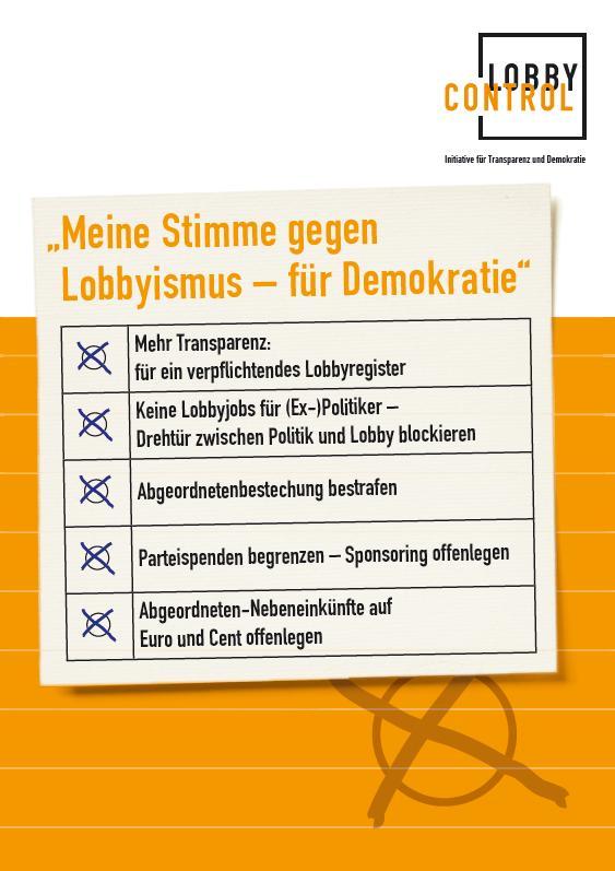 flyer stimmzettel