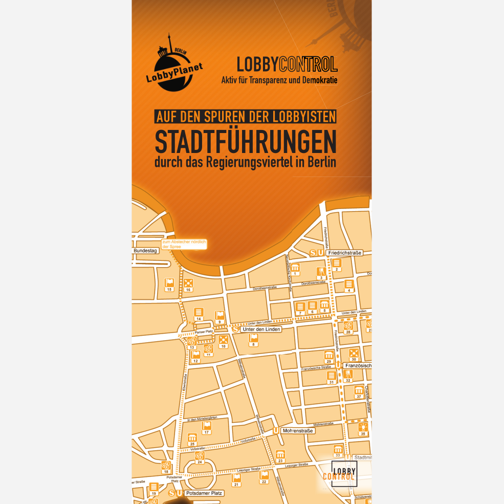 Flyer LobbyPlanet Berlin