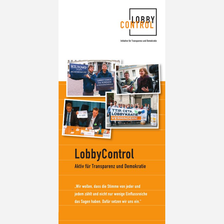 LobbyControl Flyer
