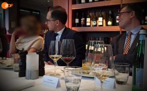 Justizminister Heiko Maas beim vorwärts-Gespräch mit Lobbyisten