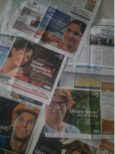 """Anzeigen der Vattenfall-Aktion """"Was wichtig ist"""" in Lausitzer Zeitung im März/April 2014"""