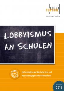 Lobbyismus an Schulen