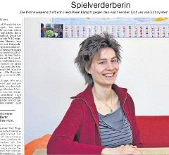 """Ausschnitt aus dem Artikel """"Spielverderberin"""", SZ vom 29.5.2012"""