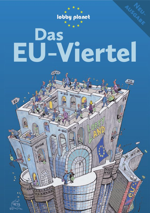Cover des Lobby Planet Brüssel